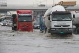 Wet day on Emirates Road.JPG