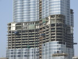 Cladding Burj Dubai September 07.JPG