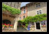 Medieval Village of Pérouges, France.