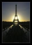 Trocadero, Palais de Chaillot - Tour Eiffel