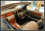 Inside the Cabin of the Lexus Convertible