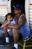 little girl & her dad
