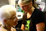 my tattoo artist Caryl Cunningham of Eternal Tattoos