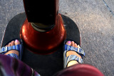 And my feet get to go along for the ride