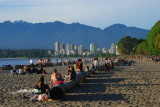 locally it's known as Kits Beach