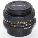 Minolta 50mm 2.0