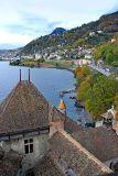 Montreux from Chateau de Chillon