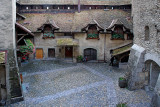 Castle courtyard, Chillon