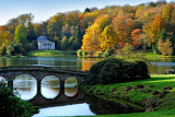 Bridge and pantheon, Stourhead