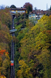 Scary! Funicular railway, Montreux