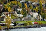 Lakeside railway, Montreux