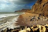 Beach walk, West Bay (1503)
