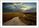 Road to nowhere, near Loch Ness