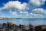 Rocks and clouds, Weymouth