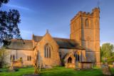 Church near White Lackington, Somerset