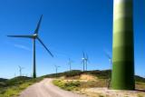 Turbines, near Casares, Spain