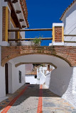 Street and bridge, Casares