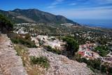 Mijas and mountain