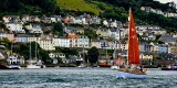 Sailing out of Dartmouth