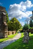 Church path, Hinton