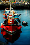Three boats, West Bay