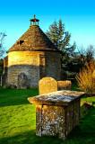 Grave and dovecote, Norton, Somerset