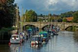 Boats and bridge, Totnes