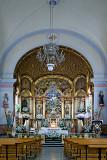 Flowers and church interior, Ronda