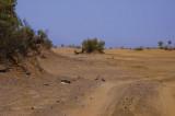 The begining of Desert