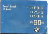 BMW Motorcycle R60/6, R75/6, R90/6, R90S Owner's Manual