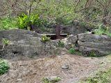 Destroyed Japanese gun emplacement