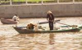 La pêche au filet.