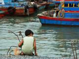 Le petit pêcheur.