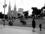 La Cathedrale de Saïgon.