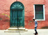 Doors in the city.