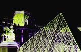 Le triangle du Louvre.