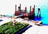 Le ponton du San Clemente