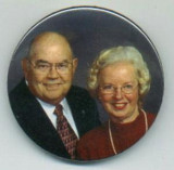 Anniversary party button