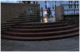 Stairs  (still raining)