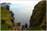 The steep cliffs at Runde