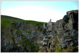 The steep cliffs at Runde 2