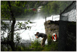 Fishing for pictures in Gaula river