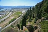 Spring View Of Wenatchee From Omie Gardens