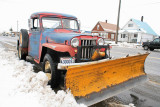 1961 Willeys Jeep Pickup Plowing Streets
