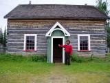 Mad Monte  At Selkirk School House. Yukon