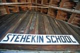 Stehekin School Sign