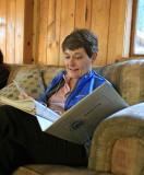 Lana Holman Enjoys Photo Album