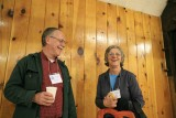 Paul Griffith And Alice Gmuer Enjoying Talking  About Trails