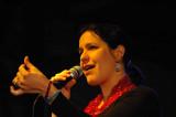 Kacey Patrick the vocal half of Stringmansassy