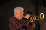 Vince Jones on trumpet